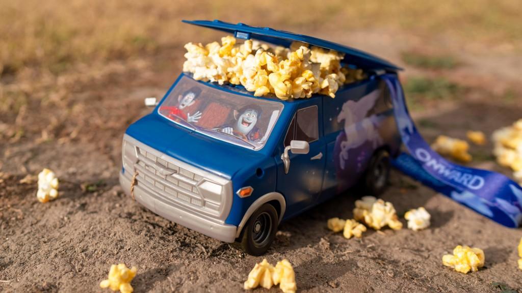 A Touch of Disney at Disney California Adventure Park Ð Onward Guinevere Popcorn Bucket (Pixar Pier Popcorn Cart)