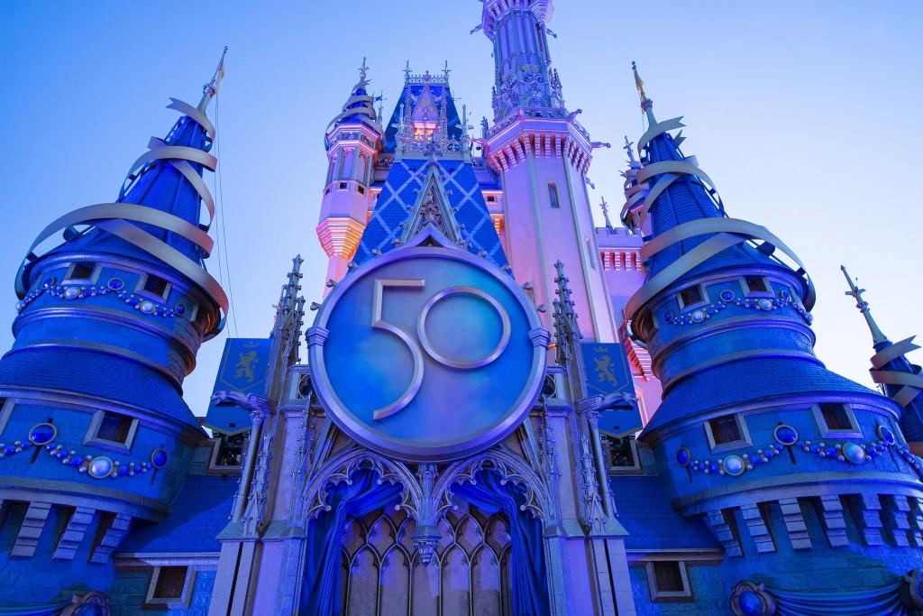 Cinderella Castle 50th Anniversary Crest